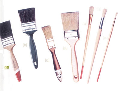 Pinceles aprenda a limpiarlos - Brochas pintura ...