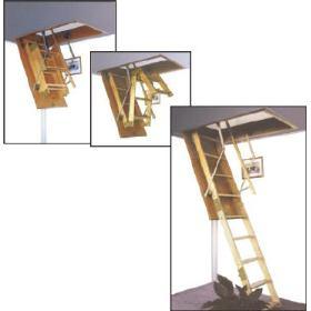 Casas prefabricadas madera escaleras de atico for Escalera aluminio plegable easy