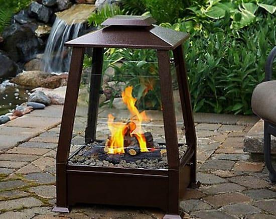 Chimeneas al aire libre para el ambiente for Chimeneas para exteriores