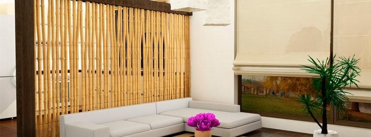 Aprenda a decorar con ca as for Bambu decoracion interior