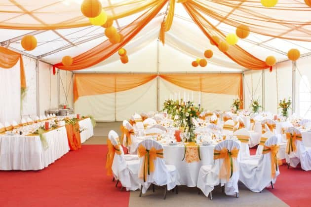 Decorando salones de fiesta con Visita Casas