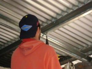 Techista reparador de techos