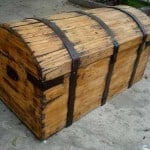 Decoración con baúles de cedro