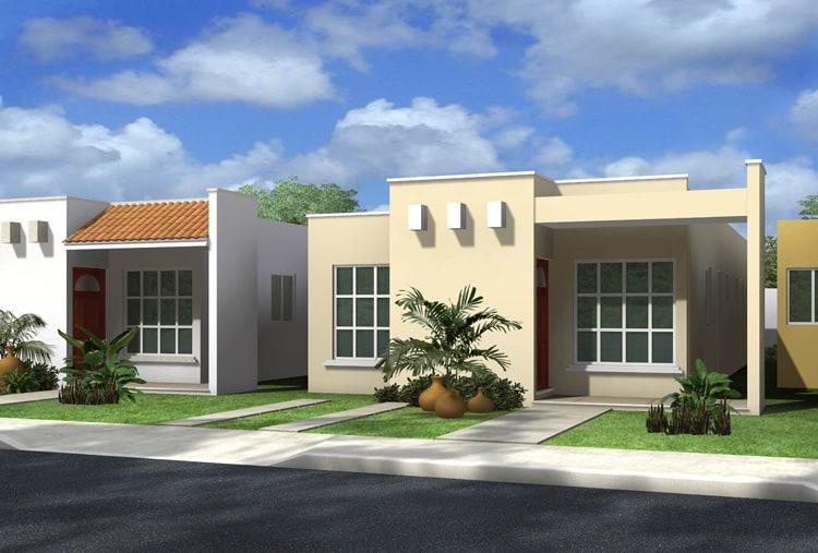 20 fachadas de casas para inspirarte for Fachadas de casas modernas 1 piso