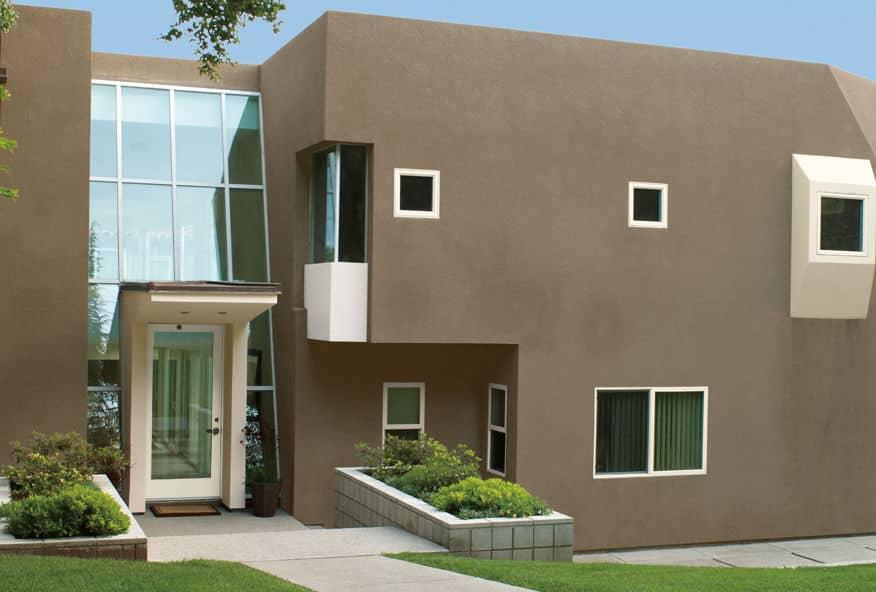 20 fachadas de casas para inspirarte - Pintura fachada exterior ...