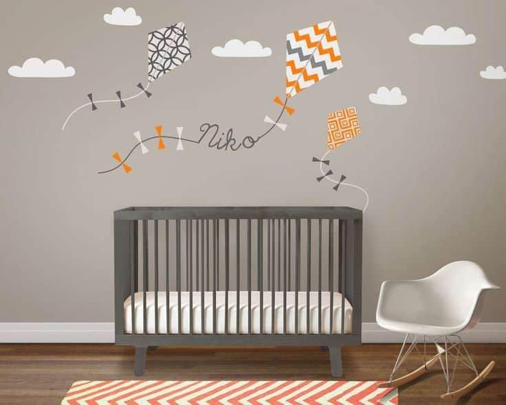 Habitación del bebé: Guía de colores para pintarla