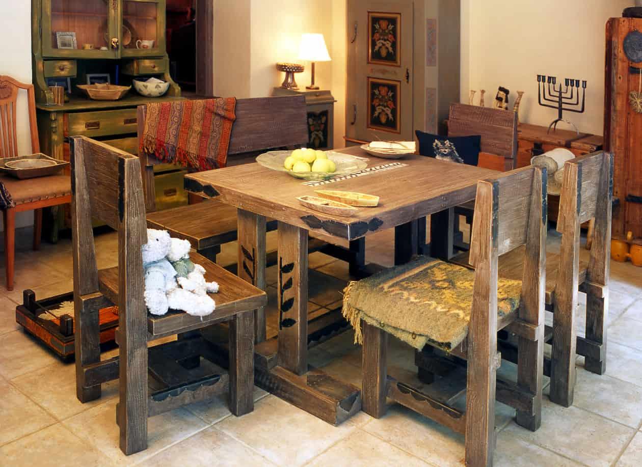 C Mo Decorar Los Interiores De Casas R Sticas Visitacasas Com # Muebles Mexicanos Rusticos