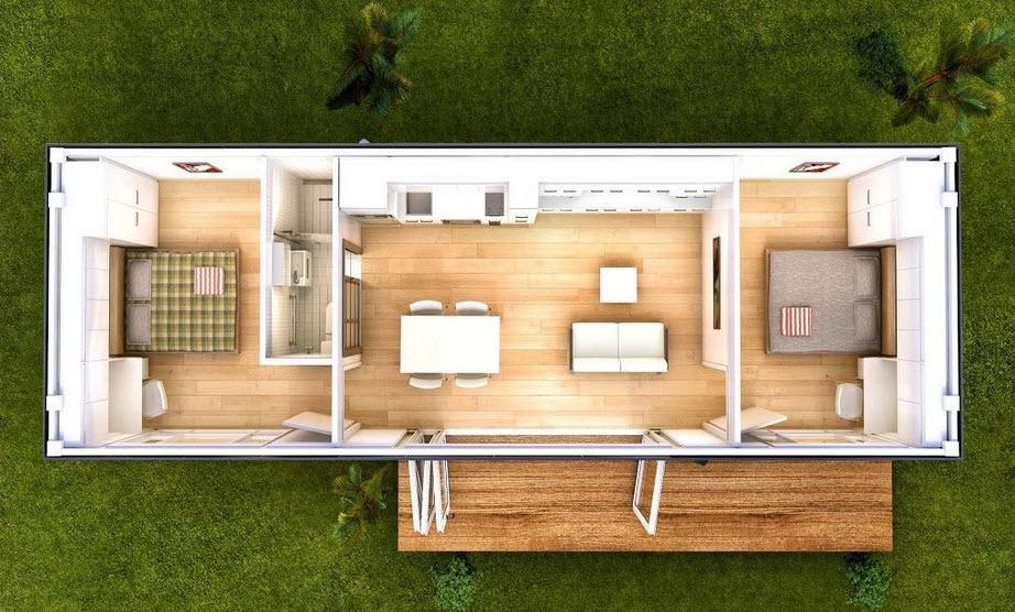 Casas en contenedores lleg para quedarse - Container casa precio ...