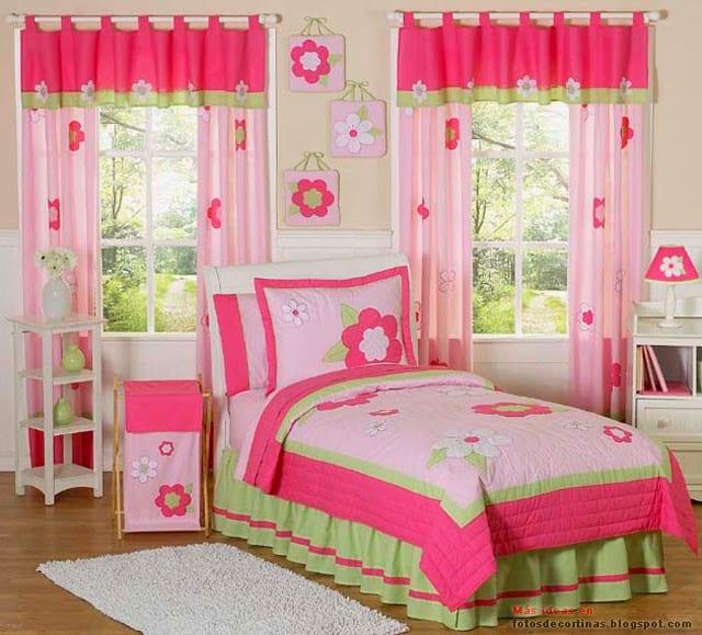 Cortinas recomendadas para una habitación infantil - VisitaCasas.com