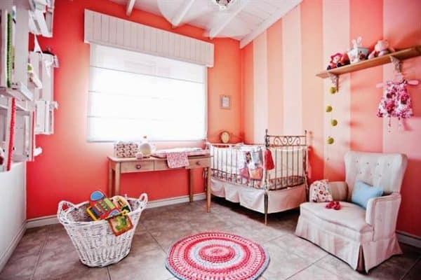 Habitaci n del beb gu a de colores para pintarla for Cuartos para ninas 2018