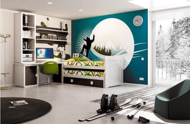 12 Modelos de diseños de cuartos para hombres jóvenes ...