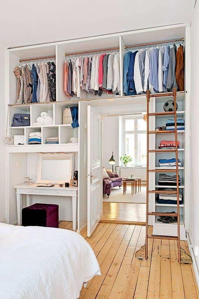 C mo decorar closets modernos para dormitorios y cuartos for Ideas para closets modernos