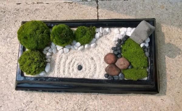 Jard n zen en miniatura c mo hacerlo en casa - Hacer un jardin zen ...