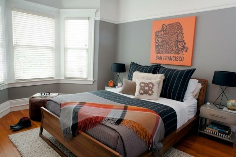 12 Modelos de diseños de cuartos para hombres jóvenes - VisitaCasas.com