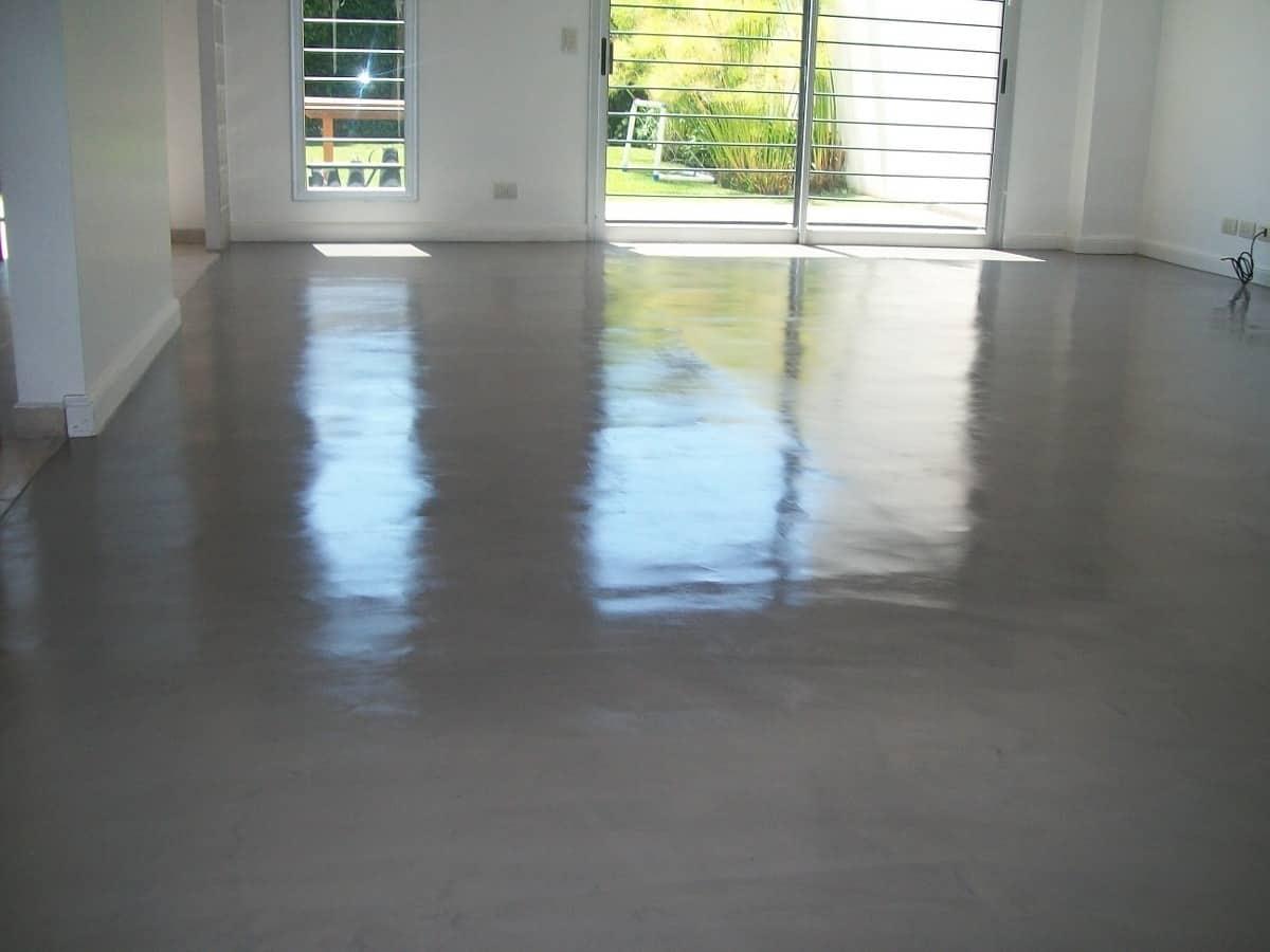 Pisos de cemento alisado c mo repararlo uno mismo - Como se echa un piso de cemento ...