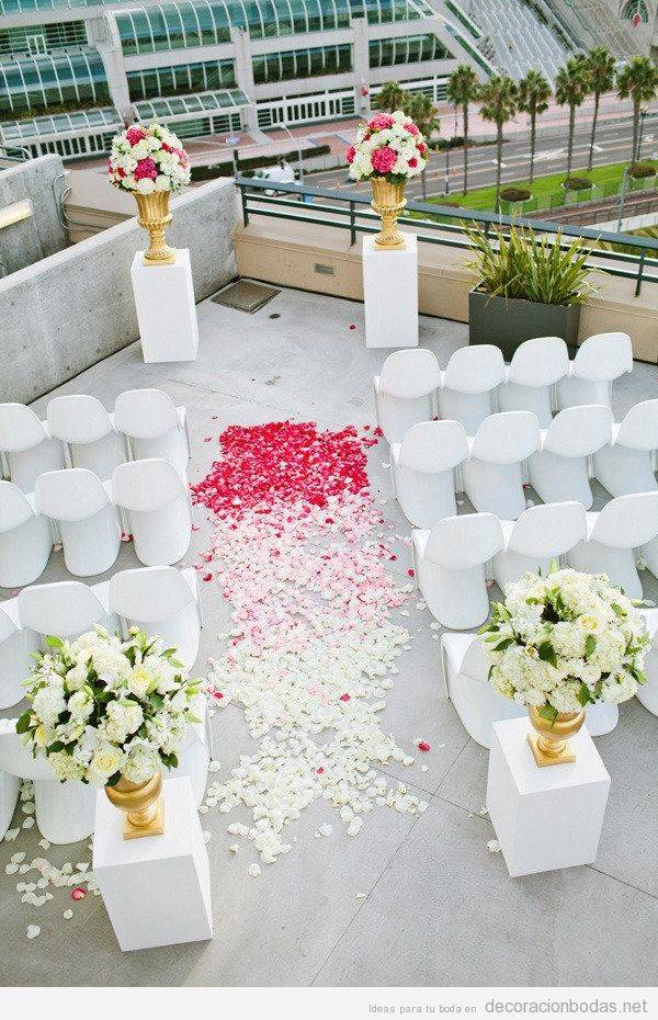 boda civil en casa: 10 ideas para decorar y lucirte - visitacasas
